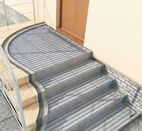 Обогрев лестниц.