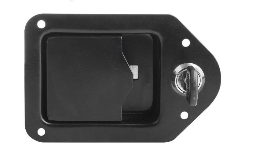 Пластик черный генератор дверные замки YL-GS-2