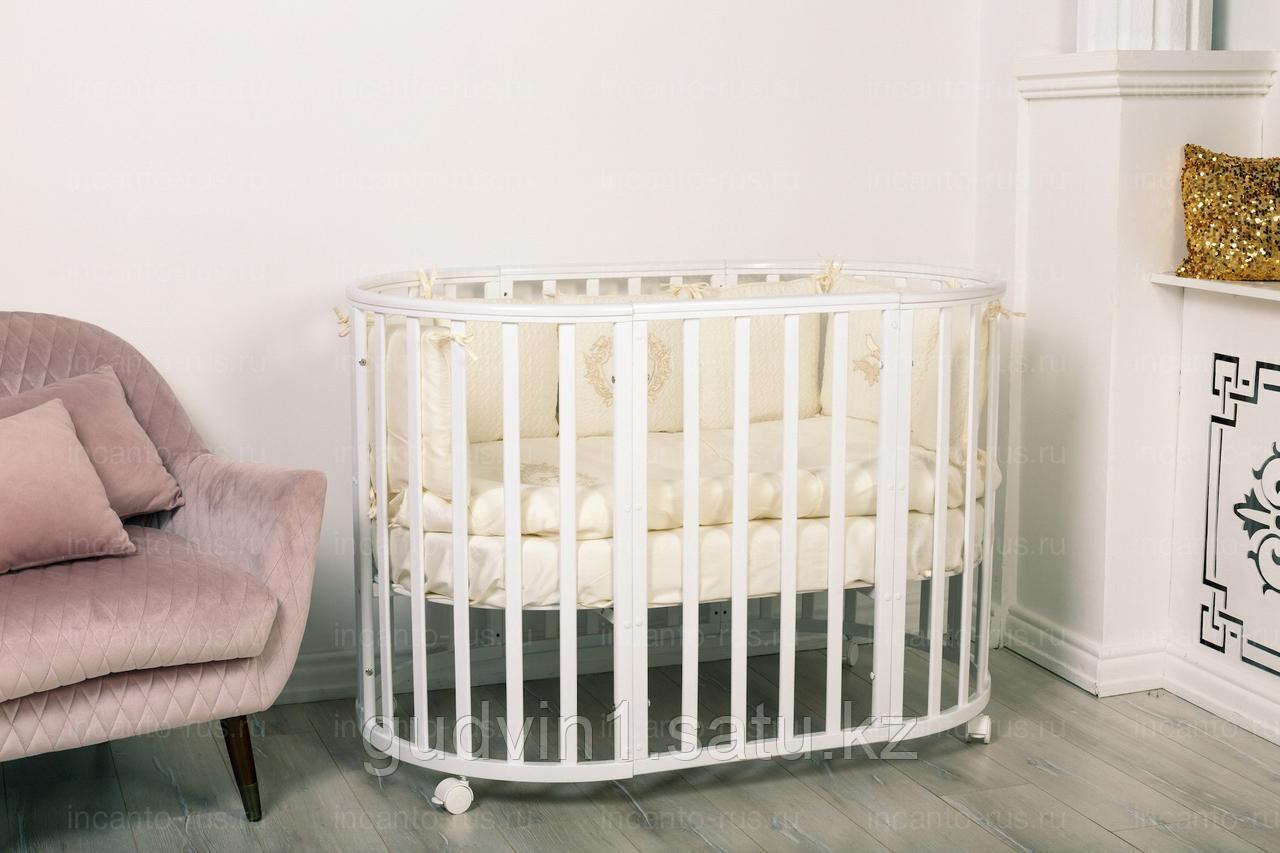 Кровать Incanto MIMI 7 в 1, цвет белый 00-77123
