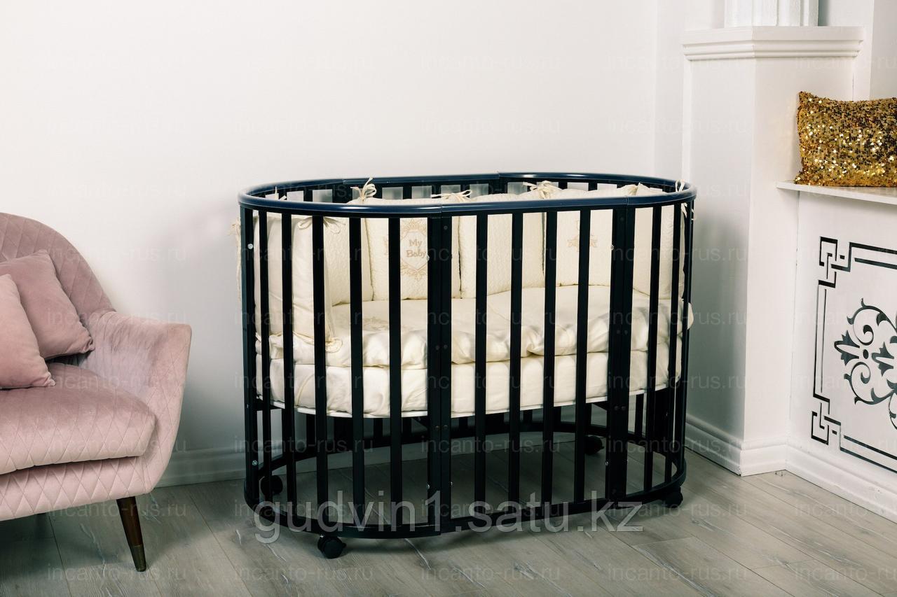 Кровать Incanto MIMI 7 в 1, цвет венге 00-80781
