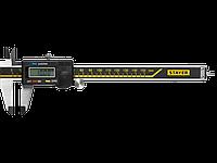"""Штангенциркуль STAYER """"PROFESSIONAL"""" электронный, шаг измерения 0,01мм, пластик корпус, 150мм, фото 1"""