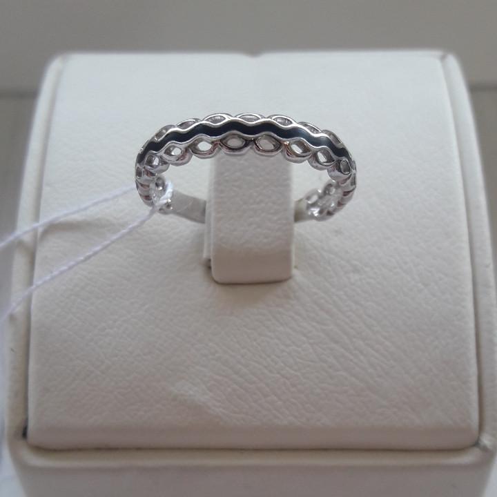 Кольцо с эмалью , размер 17