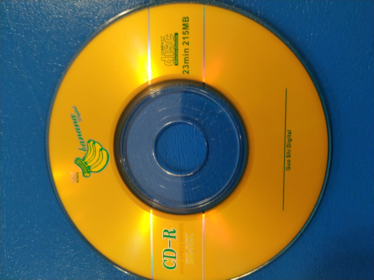 Диск Mini CD-R  Banan 215 Mb