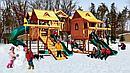 Элитный деревянный игровой комплекс Замок Эверест PlayNation, фото 7