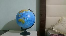 Глобус 32d физический с подсветкой. Отзыв покупателя