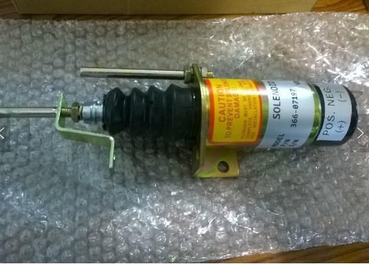 12 В остановки двигателя электромагнитные клапаны 36607197, фото 2