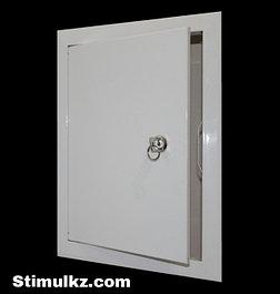 Люк-дверца металлическая с замком