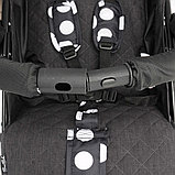Коляска-трость Bambola Pallino Чёрный Black and White, фото 4