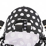 Коляска-трость Bambola Pallino Чёрный Black and White, фото 5