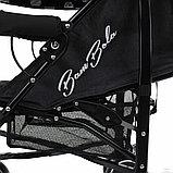 Коляска-трость Bambola Pallino Чёрный Black and White, фото 6