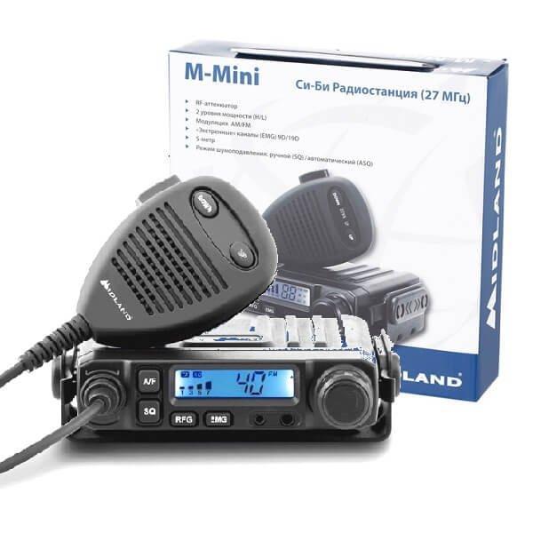 СИ-БИ рация Midland M-Mini