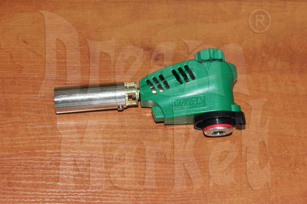 Газовая горелка KS-1005, пьезоподжиг, регулировка пламени