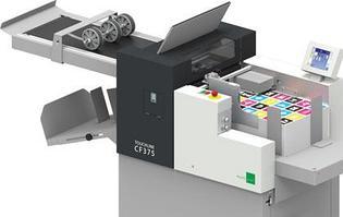 Прямо с Hunkeler Innovations 2019 к нам в демку поступила Швейцарская цифровая биговка-фальцовка MULTIGRAF CF-375
