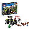 LEGO CITY Лесной трактор 60181
