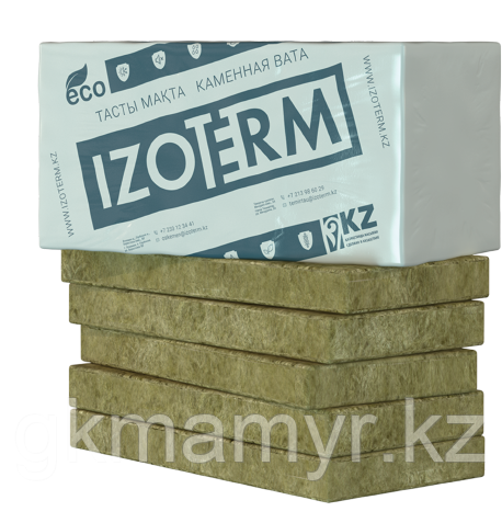 Каменная вата IZOTERM стандарт