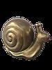 Садовая фигура Улитка, цвет бронзы