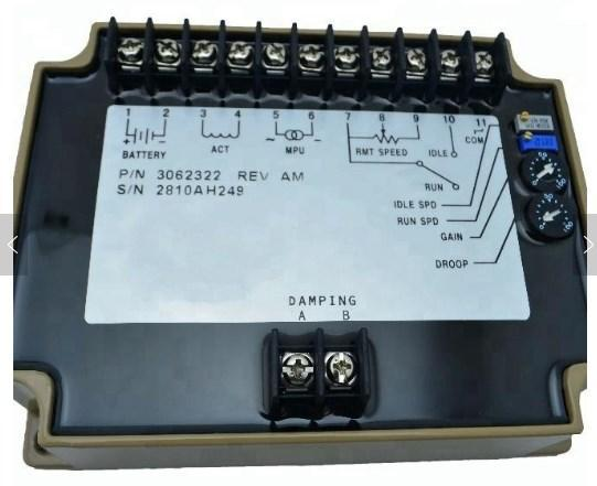 Скорость блок управления 3062322 электрический губернатора для дизельных двигателей, фото 2