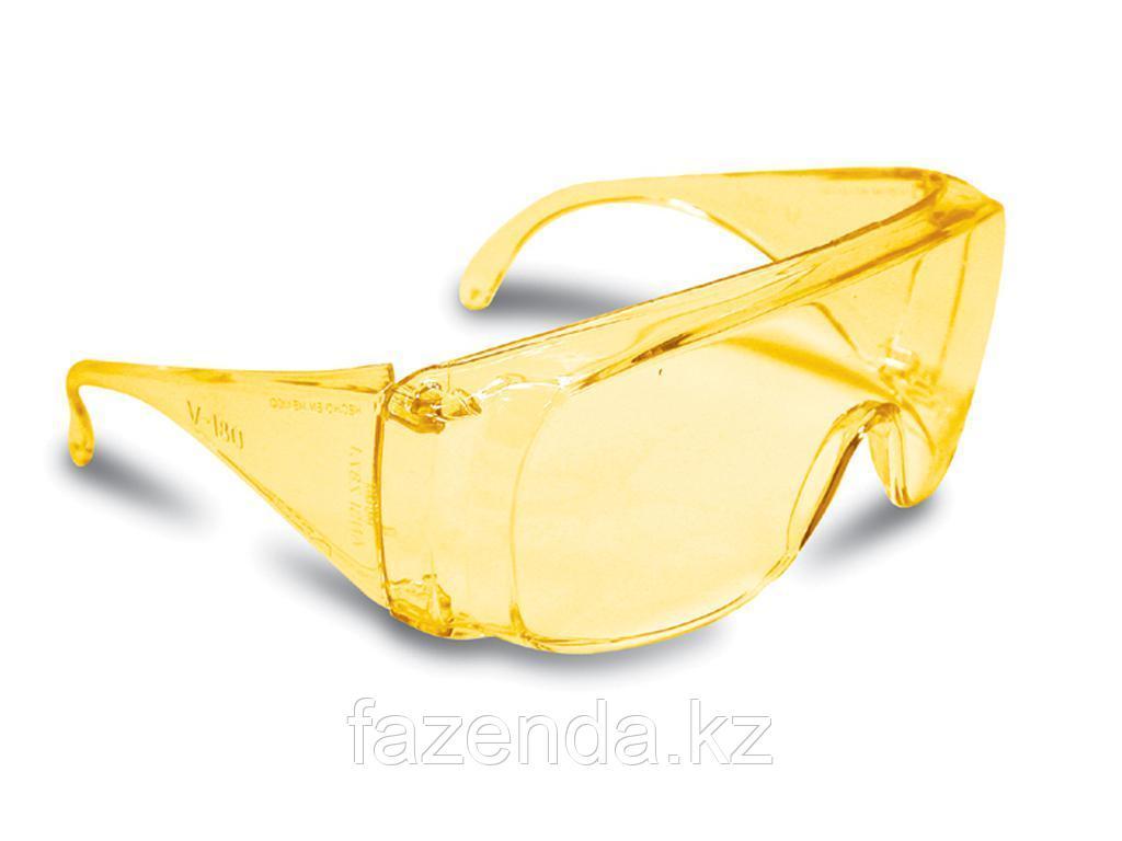 Защитные очки янтарная линза