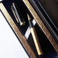 Подарочная ручка в коробке из эко кожи, фото 1