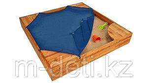 """Открытая деревянная песочница """"Пирамидка"""""""