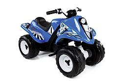 Smoby: Квадроцикл аккумуляторный, голубой