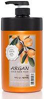Welcos Argan Gold Hair Pack Увлажняющая Маска с Аргановым Маслом и с Золотом для Поврежденных Волос 1000гр.