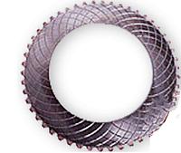 Фрикционная пластина 1-ой и задней скорости (бронзовая) ZL40,6,14 (1ком*8шт) на погрузчик ZL50G, LW500F