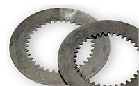 Фрикционная пластина 2-ой скорости (стальная) ZL40A30.1-10 (1ком*1шт) на погрузчик ZL50G, LW500F