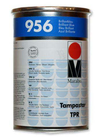 Краска для тампонной печати Tampa Star TPR ярко-синяя