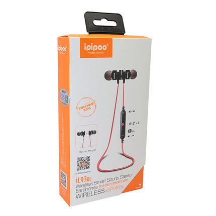Наушники iPipoo iL93BL Bluetooth Black, фото 2