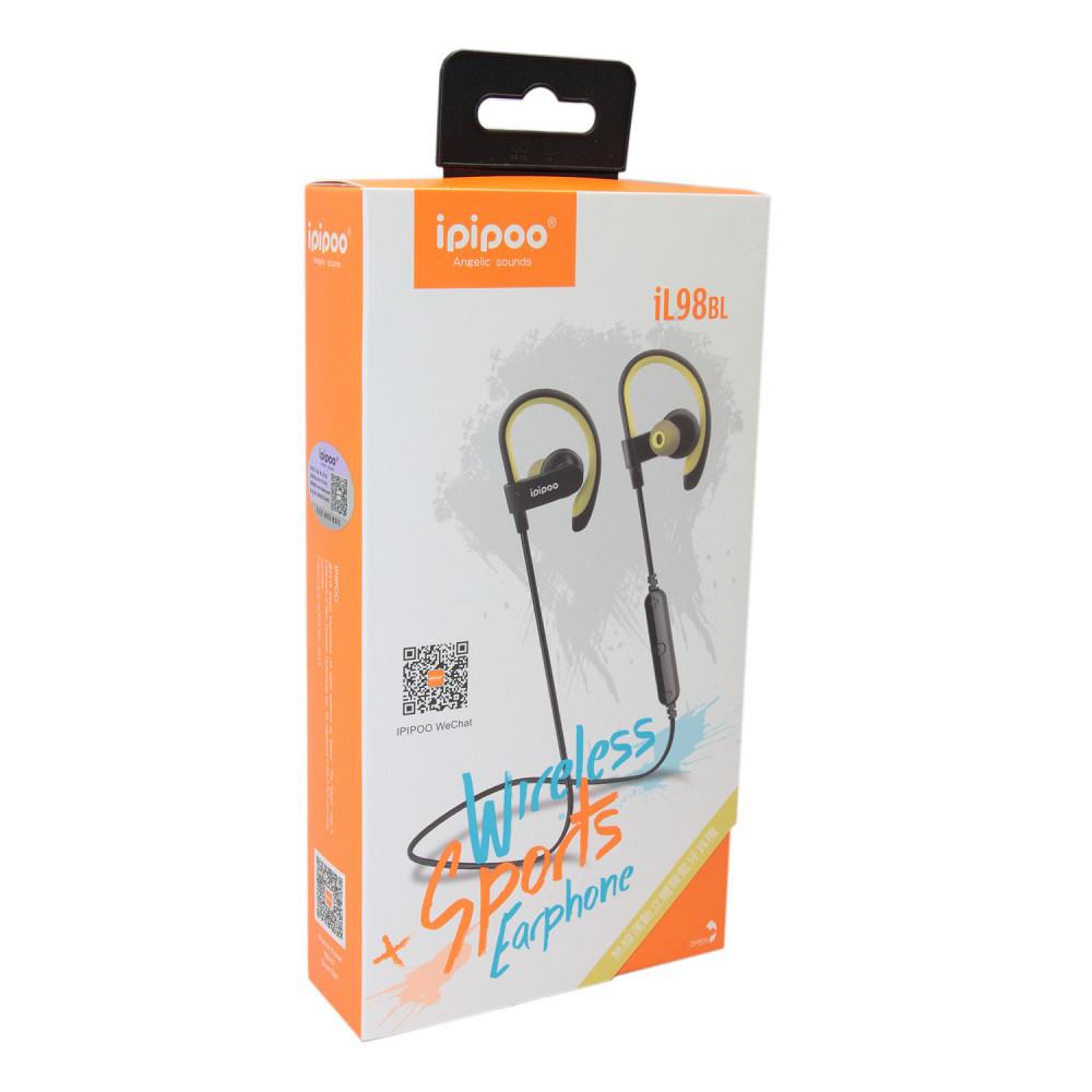 Наушники iPipoo iL98BL Bluetooth Yellow