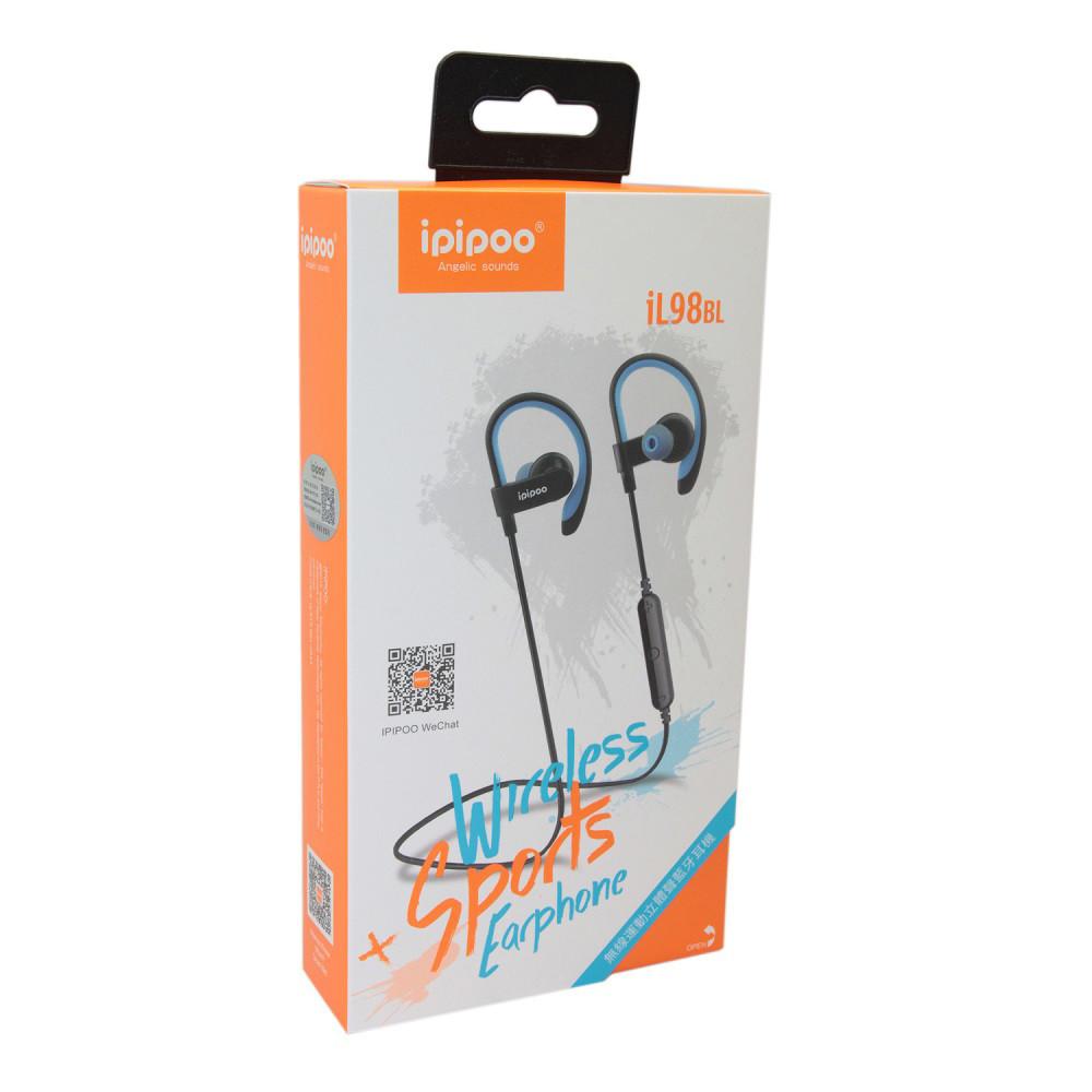 Наушники iPipoo iL98BL Bluetooth Blue