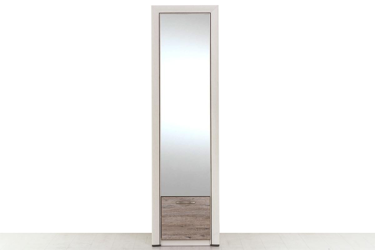 Шкаф для одежды 1Д  (Olivia 1DZ), коллекции Оливия, Дуб Анкона, Анрэкс (Беларусь)