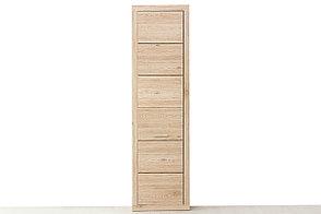 Шкаф пенал  1Д  (Oskar 1DG) коллекции Оскар, Дуб Санремо, Анрэкс (Беларусь), фото 2