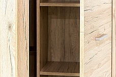 Шкаф для одежды угловой 1Д  (Oskar L/P), коллекции Оскар, Дуб Санремо, Анрэкс (Беларусь), фото 3