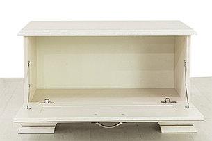 Тумба для обуви 1Д (Tiffany 1D), коллекции Тиффани, Вудлайн Кремовый, Анрэкс (Беларусь), фото 2