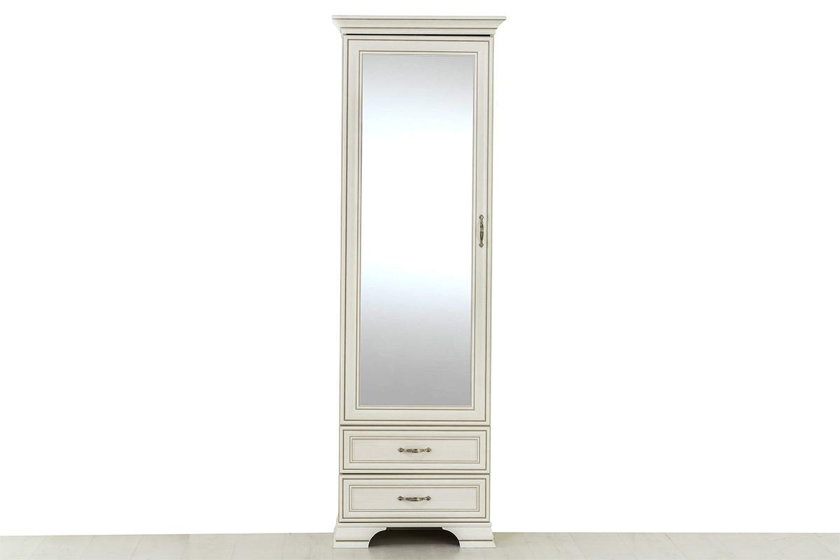 Шкаф пенал 1Д  (Tiffany 1Z2S), коллекции Тиффани, Вудлайн Кремовый, Анрэкс (Беларусь)