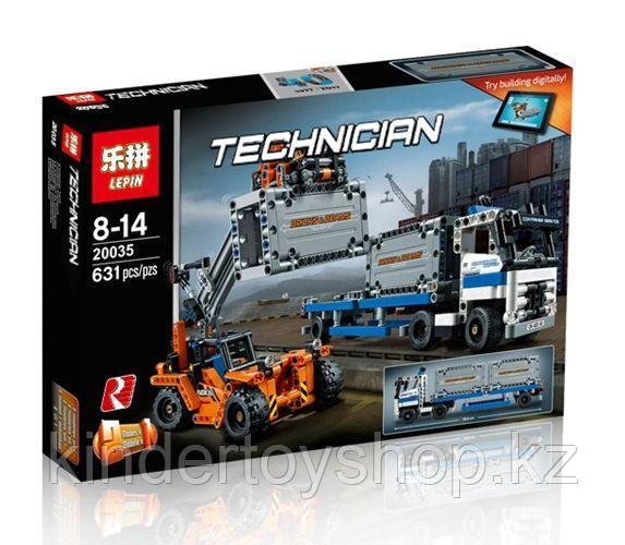 Конструктор Аналог Lego 42062, Lepin 20035 Контейнерный терминал