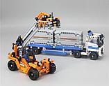 Конструктор Аналог Lego 42062, Lepin 20035 Контейнерный терминал, фото 4