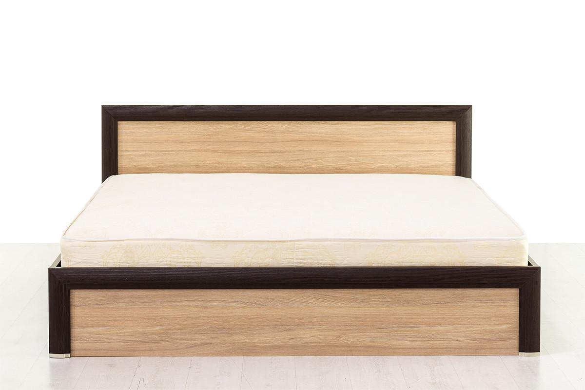 Кровать двуспальная (Denver 180), коллекции Денвер, Дуб Янтарный, Анрэкс (Беларусь)