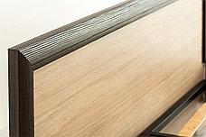 Кровать двуспальная (Denver 180), коллекции Денвер, Дуб Янтарный, Анрэкс (Беларусь), фото 2