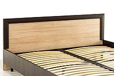 Кровать двуспальная (Denver 180), коллекции Денвер, Дуб Янтарный, Анрэкс (Беларусь), фото 3