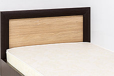 Кровать односпальная (Denver 90), коллекции Денвер, Дуб Янтарный, Анрэкс (Беларусь), фото 2