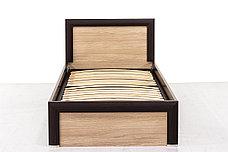 Кровать односпальная (Denver 90), коллекции Денвер, Дуб Янтарный, Анрэкс (Беларусь), фото 3