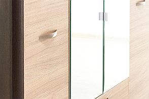 Шкаф для одежды 4Д (Denver 4D2S Z), коллекции Денвер, Дуб Янтарный, Анрэкс (Беларусь), фото 3