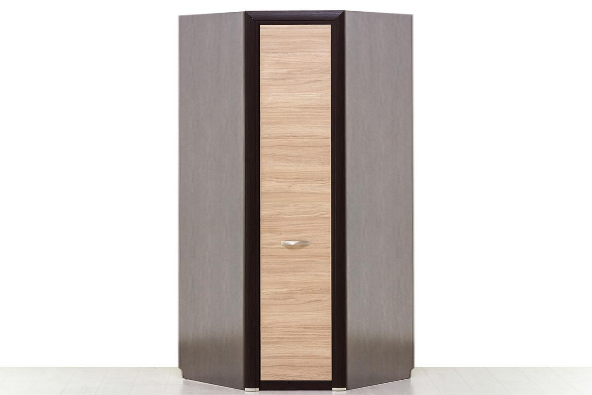 Шкаф для одежды угловой 1Д , коллекции Денвер, Дуб Янтарный, Анрэкс (Беларусь)
