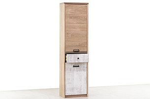 Шкаф пенал 2Д (Diesel 2D1S/D2) коллекции Дизель, Дуб Мадура/Энигма, Анрэкс (Беларусь), фото 2