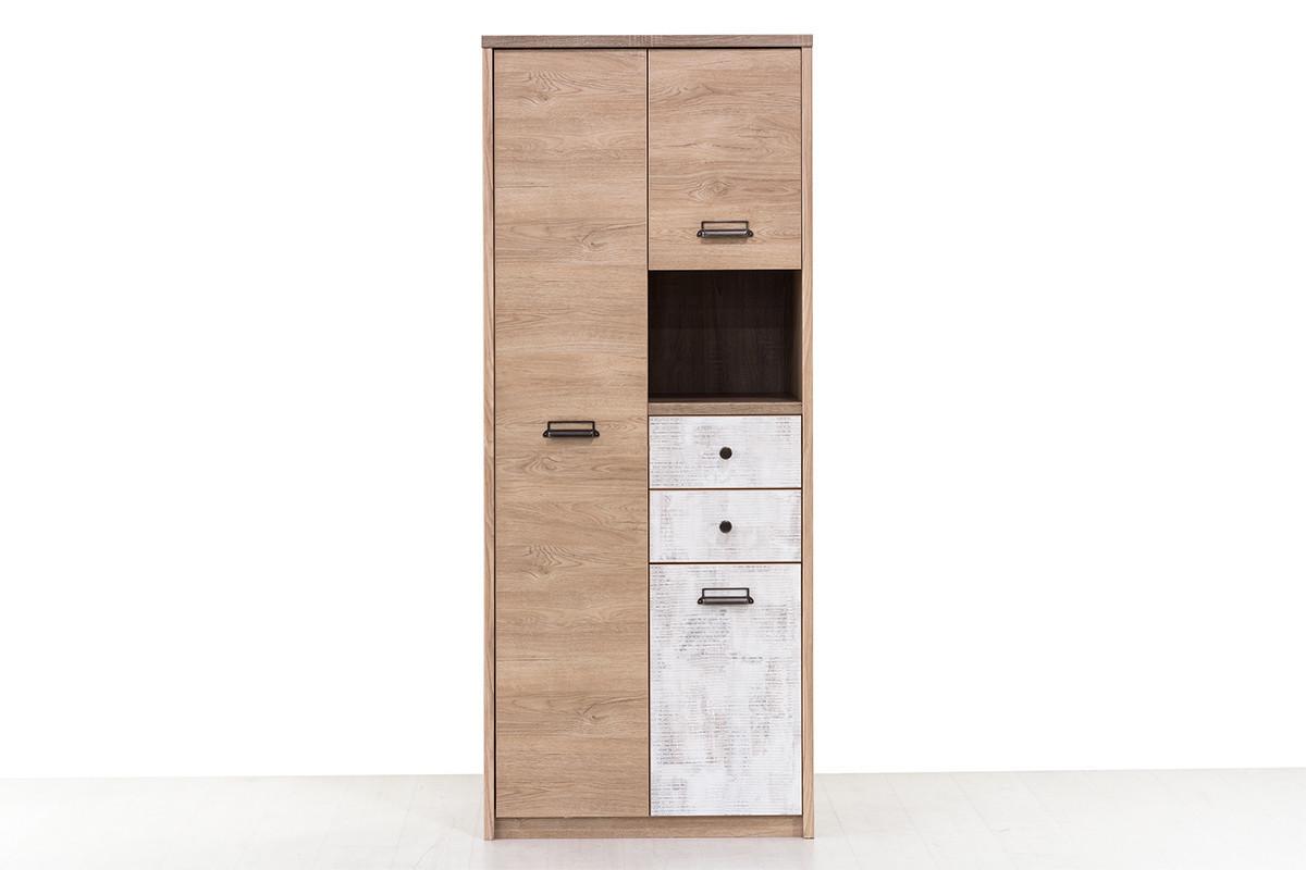 Шкаф для одежды 3Д (Diesel 3DG2SN/D2), коллекции Дизель, Дуб Мадура/Энигма, Анрэкс (Беларусь)