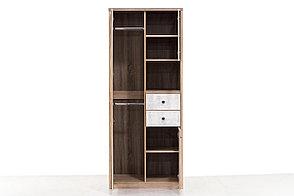 Шкаф для одежды 3Д (Diesel 3DG2SN/D2), коллекции Дизель, Дуб Мадура/Энигма, Анрэкс (Беларусь), фото 2