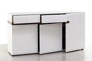 Комод 3Д 2Я (Linate 3D-2S/TYP 40), коллекции Линате, Белый, Анрэкс (Беларусь), фото 2